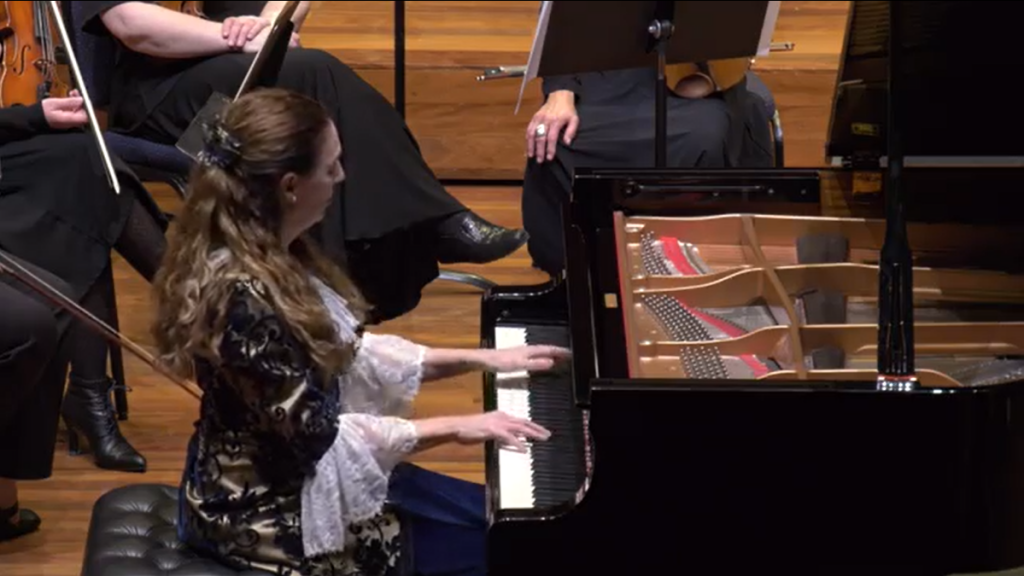 Elyane Laussade will perform the Mozart Piano Concerto #23